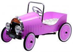 Classic Pink Pedal Car  Bebe Diva