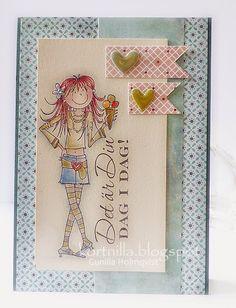 Penny Black.....Handmade card
