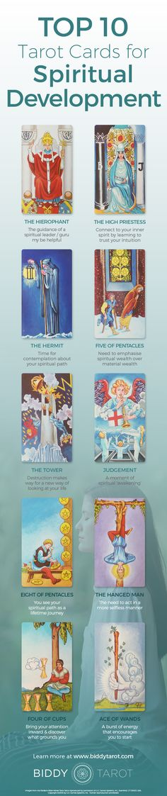 Consciousness is ascending to new heights when these tarot cards appear. A new level of spiritual awareness awaits!