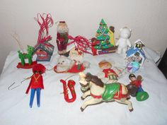 Vintage Ornaments Vintage Lot Of 15 Christmas by SETXTreasures
