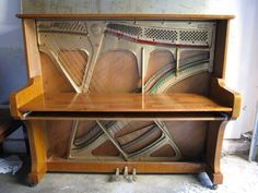 Upcycled Piano Desk