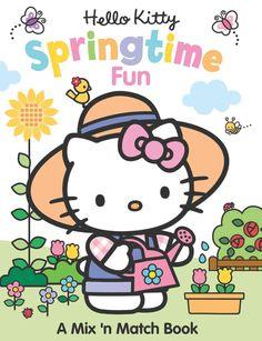 Hello Kitty Springtime Fun: A Mix 'n Match Book