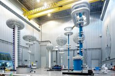 ABB's High Voltage DC test facility in 2010: