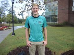 """Meet October 14th #CCUFamily member Ray Taylor, a junior from Spartanburg, SC. Explaining the characteristic that propelled him to be the first in his family to attend college, Ray uses the word """"determined."""" Clearly, his determination is what got him to Coastal but it is also what has led him to succeed at Coastal. Ray works 3 on-campus jobs, serves as an orientation leader, writes for Tempo Magazine, and is a member of the Quidditch team. Find out more of his story here:"""