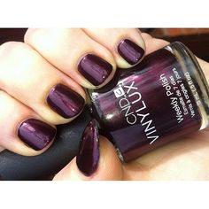 CND - Vinylux - Dark Lava......This polish is awesome! On day 3 and it hasn't chipped at all!