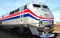 Amtrak Train...one of favorite ways to travel from Slidell, LA to Atlana , GA.