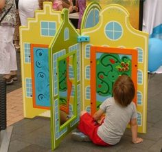 Street Play Unit - this site has a lot of these, but you have to contact them to get prices, hate that