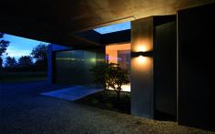 gap . outside luminaire . Außenleuchte . wall luminaire . Wandleuchte . aluminium die-casting . Aluminiumguss . LED