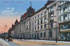This postcard – approximately from 1904 – shows the shop of Bechstein dealer Lichtenstein in the German city Frankfurt/Main.