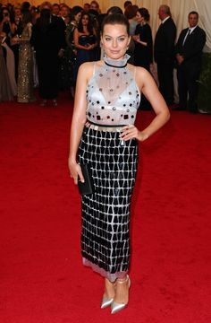 Margot Robbie Best Red Carpet Looks: Calvin Klein and More Photos   W Magazine