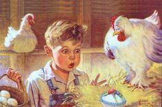 Sambrook, Russell - Proud Mother Hen