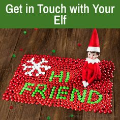 The Elf, Elf On The Shelf, Christmas Questions, Mail Writing, Elf Pets, Holiday Fun, Holiday Decor, Easter 2021, North Pole