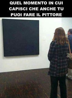 Tu puoi fare il pittore ...