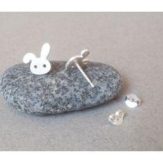 Bunny earring studs - super cute