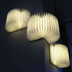 Lumio is a multi-functional modern lamp shaped like a book. All Lumio book lamps are usb charged & portable enabling you to create light everywhere you go. Lampe Led Rechargeable, Book Lamp, Wooden Books, Wooden Pegs, Displays, Interior Design Magazine, Tiffany Lamps, Home Design, Lighting Design
