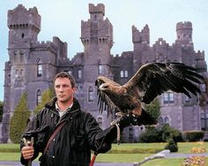 Who wouldn't want to do Falconry? Ashford Castle, Ireland