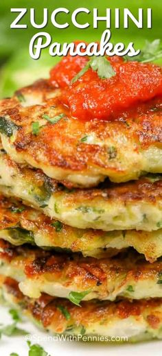 These zucchini panackes are one of my favorite snacks without all of the guilt! spendwithpennies zucchini keto snacks zucchinipancakes appetizer easyappetizer easyrecipe easysnack is part of Zucchini pancakes - Vegetable Recipes, Vegetarian Recipes, Cooking Recipes, Healthy Recipes, Vegetable Snacks, Easy Snacks, Keto Snacks, Easy Meals, Zucchini Pancakes