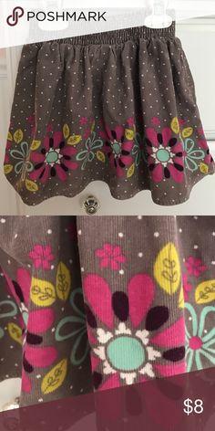 Cherokee corduroy skirt Adorable corduroy skirt. EUC, worn once. Size 3t. Cherokee Bottoms Skirts