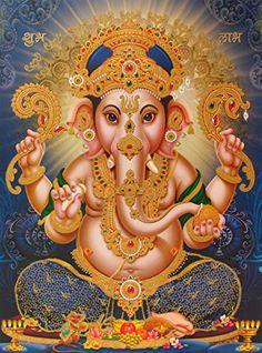 Lord Ganesha / Shree Ganesh / Shri Ganpati Poster (Size: ... https://www.amazon.com/dp/B00SJJRTMG/ref=cm_sw_r_pi_dp_1qVyxb86Y7YJY