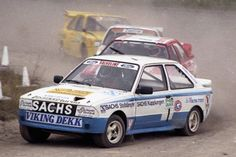 Martin Schanche in the Ford Escort Sports Car Racing, Sport Cars, Race Cars, Auto Racing, Happy Birthday Martin, Vikings, Ford Motorsport, Ford Escort, Rally Car
