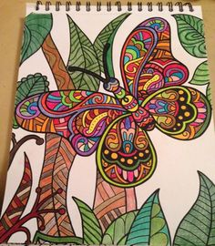 ColorIt Wild Animals Adult Coloring Book Colorist: Melody Jones #adultcoloring…