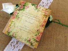 vintage προσκλητηρια γαμου - Αναζήτηση Google