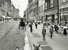 West 23rd Street, New York City, about 1905