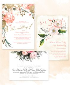 #watercolor is so trending right now! @dawninvites has you covered with these…