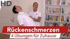 In diesem Video zeigt der Schmerzspezialist Roland Liebscher-Bracht 4 Übungen gegen Schmerzen im Rücken. Einfach & effektiv. Schmerzen im unteren Rücken sind...