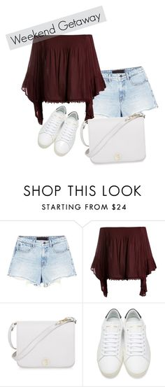 Weekend GetAway #2 by shavellexoxo on Polyvore featuring Sans Souci, Alexander Wang, Yves Saint Laurent and Furla