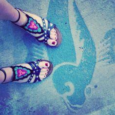 Gleeful Things » Last Insta-week  Barefoot Sandals