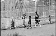 Harlem Baseball 1988 | Black and White Street Photographs of New York City by Matt Weber