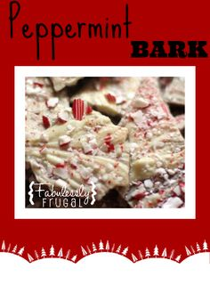 This is the yummiest peppermint bark ever. Try it now!