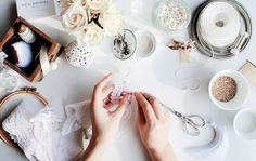 Currently italian based owner and designer for NEA • BRIDAL – young brand of luxury quality handcrafted wedding accessories and hair jewelry.