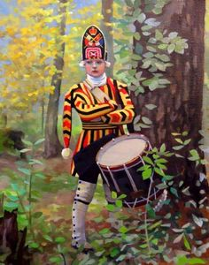 Drummer of First Royal Scots Regiment of Foot - 1756.