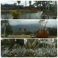Hoy Parque Generalísimo Francisco de Miranda fue diseñado por el arquitecto y paisajista brasileño Roberto Burle Marx. (en Parque Del Este)