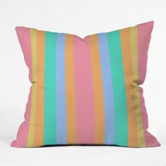 Lisa Argyropoulos Tropical Sundae Throw Pillow | DENY Designs Home Accessories