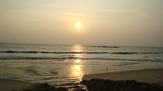 Sun set at Kannur.