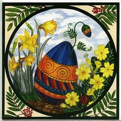 OSTARA | ostara egg beautiful ostara card ✯ Visit lifespiritssocietyofmagick.com for love spells, wealth spells, healing spells, and LOA info.