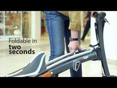 Stigo: Mini E-Scooter zum Falten vorgestellt (Video) - http://www.ebike-news.de/stigo-mini-e-scooter-zum-falten-vorgestellt/5592
