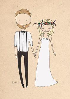 Couples illustration image 7