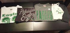 Junk Food-- Philadelphia Eagles Tees!! New Arrivals!!  #pileggiboutique