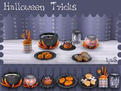 Sims 4 CC's - The Best: Halloween Treats by Soloriya