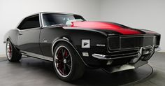 Mean 600hp Pro Touring 1968 Chevrolet Camaro. Double Click to See the Video