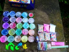 Fruit Slime, Slime Mould, Slime Containers, Slime Kit, Clear Slime, Arts And Crafts Supplies, Toys For Girls