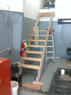 Collapsible Stairs.