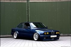 BMW 3 Series Model: E30 Color: Blue   Mod List BBS RS Wheels Eye Lids Frenched Smiley Head Lights Frenched High Beams