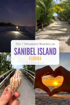 If your ideal beach vibe is more wildlife than nightlife, the beaches of Sanibel are perfect for you. Here are 7 of the dreamiest and uncrowded beaches on Sanibel Island. #bestbeachesSanibel #Sanibelbeaches #bestbeachesinFlorida #beachesofSanibel