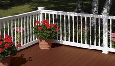 Oxford Vinyl Railing - Routed System - Railing - Fence, Decking and Railing - CertainTeed