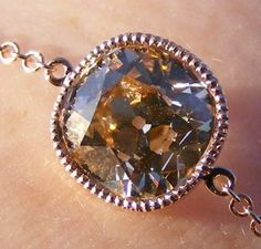 "1.5ct S/T Light Brown ""August Vintage"" Cushion Diamond"